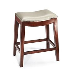 Julien Leather Bar Stool