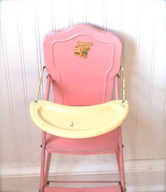 1950's doll's highchair