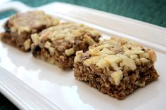 Utah Deal Diva- No Bake Apple Bars Healthy Snack, Breakfast Ideas Healthy Meals For Two, Healthy Snacks, Healthy Recipes, Healthy Baking, Apple Bars, Dried Apples, Breakfast Recipes, Breakfast Ideas, Brownie Bar