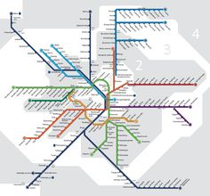 Metro Map Pictures: Stockholm Tunnelbana Map Pictures