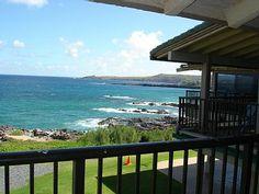 Kapalua Bay Villas Vacation Rental - VRBO 338527 - 1 BR Kapalua Villa in HI, Beautiful Kapalua Oceanfront Villa. 180 Degree Ocean Views.