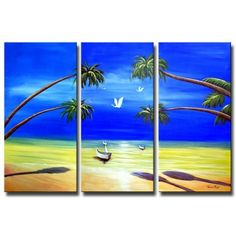beach front painting