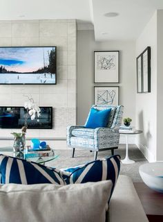Love the accent chair!
