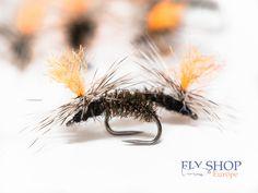 Lot 6 Custom Angler Size 12 Adams Parachute Hopper Trout Fly Fishing Dry Flies