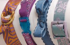 How to make 4 belt styles that are a cinch to make..cool idea