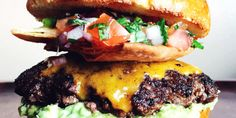 We just made your dinner plans: this recipe has nachos and burgers at the same time.