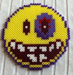 Smiley hama perler by arthystik