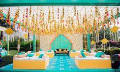 New diy wedding centerpieces beach Ideas Desi Wedding Decor, Wedding Hall Decorations, Wedding Mandap, Centerpiece Decorations, Wedding Centerpieces, Diy Wedding, Wedding Ideas, Wedding Halls, Wedding House
