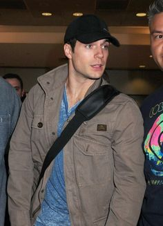 Henry Cavill Photos: Henry Cavill Arrives at JFK