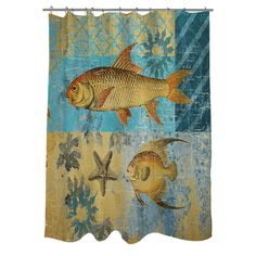 Thumbprintz Caribbean Cove IV Shower Curtain - Overstock Shopping - Great Deals on Shower Curtains