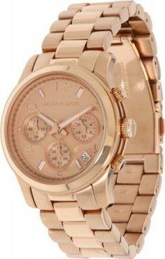 adfea465e9e Relógio Michael Kors Rose Gold Runway Watch - Women s Watch MK5128  Relogios   MichaelKors Relógio