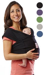 Baby K'tan Original Baby Wrap Carrier, Infant and Child Sling - Simple Wrap Holder for Babywearing - No Rings or Buckles - Carry Newborn up to 35 lbs, Black, Women (X-Small), Men jacket up to 36 Best Baby Carrier, Baby Wrap Carrier, Moby Wrap, Baby Must Haves, Small Baby, Baby Registry, Wrap Style, Baby Wearing, Baby Love