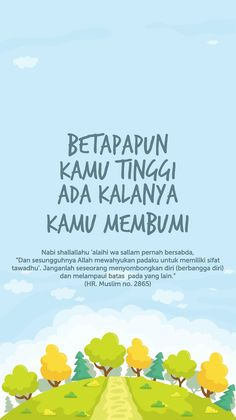 Rendah hati Reminder Quotes, Self Reminder, Quran Quotes Inspirational, Motivational Quotes, Sabar Quotes, Best Quotes, Life Quotes, Religion Quotes, Islamic Quotes Wallpaper
