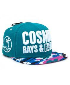 NEFF Cosmic Snapback cap Teal