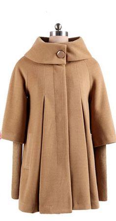 Coat Outerwear Jacket in Camel