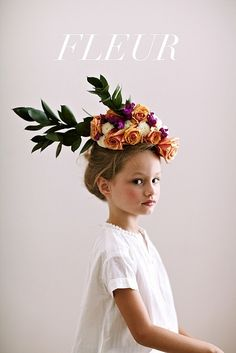 The Kitchy Kitchen: PRETTY THINGS: FLORAL HEAD DRESSES
