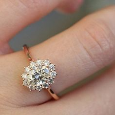 Absolutely breathtaking rose gold engagement rings