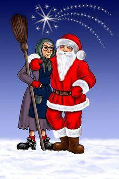 Biglietto per Natale Disegnato con Photoshop By Laura Giordanengo