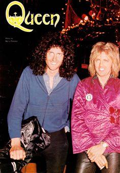 Freddie Mercury, Brian May, Roger Taylor, John Deacon, Queen, 1970s,