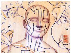 Как исцелять себя и своих близких, влияя на особые энергетические каналы – меридианы