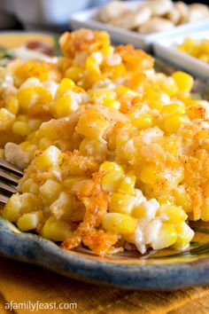 Nantucket Corn Pudding - A Family Feast®