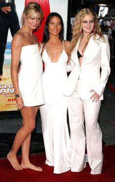 All Whites: Cameron Diaz, Lucy Liu, Drew Barrymore