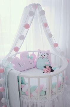 More … – Baby Baby Bedroom, Baby Room Decor, Nursery Room, Kids Bedroom, Girl Cribs, Baby Cribs, Baby Room Storage, Baby Room Design, Baby Furniture