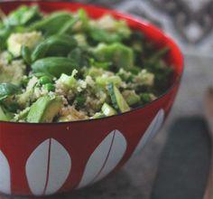 Frisk og grønn salat på 1-2-3 - Lev med diabetes.no