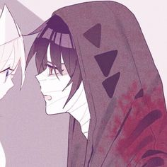 Great pictures of their costumes. Cute Anime Pics, Cute Anime Couples, I Love Anime, Anime Guys, Angel Of Death, Matching Profile Pictures, Satsuriku No Tenshi, Couple Wallpaper, Avatar Couple