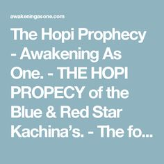 Hopi Prophecies Prophecy Rock Crystalinks learn something