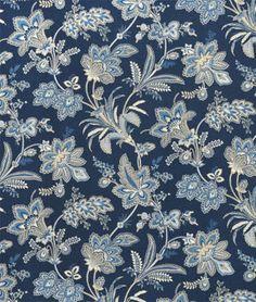 Shop Waverly Felicite Indigo Fabric at onlinefabricstore.net for $15.35/ Yard. Best Price & Service.