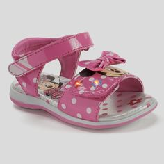 8daa4a5299b Disney Toddler Girl s Minnie Mouse Sandal