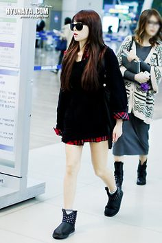 1000 Images About Hyuna Outfits On Pinterest Airport Fashion Fashion Stores And Girl Korea