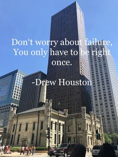 Quote from the famous Dropbox founder and CEO No Worries, Skyscraper, Multi Story Building, Quote, Quotation, Skyscrapers, Qoutes, Quotations, True Words