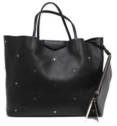 d52e38bc2 New $2450 Givenchy Antigona Large Black Metal Cross Leather Shopping Tote  Bag #ad #givenchy