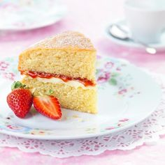 Victoria Sponge Cake Recipe: This classic Victoria Sponge Cake is a firm summer favourite! - One of hundreds of delicious recipes from Dr. Oetker!