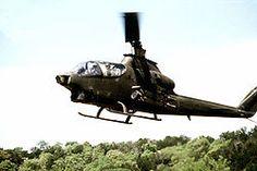 AH-1Q Cobra en Fort Hood, Texas.