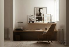 Home Office Helpful Strategies For home office design styles Home Office Design, House Design, Sweet Home, Lofts, My New Room, Office Interiors, Interior Styling, Simple Interior, Interior Colors