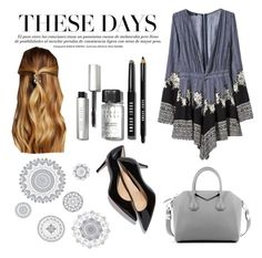"""These days"" by mgkellogg ❤ liked on Polyvore featuring WallPops, Givenchy, Natasha Accessories, Bobbi Brown Cosmetics, women's clothing, women, female, woman, misses and juniors"