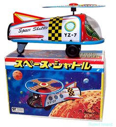 Nemoto Japan Tin Toy Space SHIP Vintage Space Shuttle | eBay