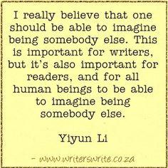 Quotable - Yiyun Li - Writers Write