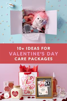 Send a cute Valentine's Day care package that is as beautiful as it is thoughtful with these sweet (and easy!) ideas. Get supplies and inspiration here. Valentines Day Care Package, Be My Valentine, Conversation Hearts Candy, Best Pens, Packaging, Diy Crafts, Care Packages, Homemade, Sweet