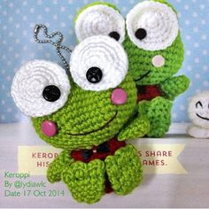 Amigurumi Keroppi Pattern : 1000+ images about keroppi frog on Pinterest Sanrio ...