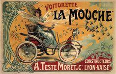 ¤ Voiturette la Mouche constructeur A. TESTE MORET et Cie Lyon-Vaise