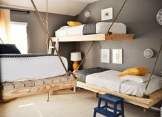 The+Most+Beautiful+Bunk+Beds+We've+Ever+Seen+via+@domainehome