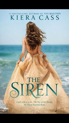 I know The Siren isn't part of The Selection world but look how pretty the new cover is!