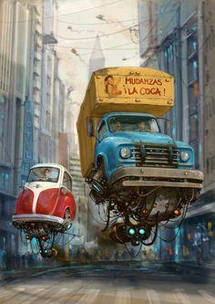 Alejandro Burdisio Ilustrador Argentino - Taringa!