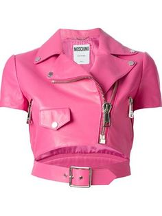 cropped biker jacket Moschino check out my blog handlethisstyle.com