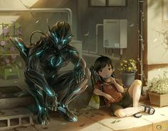 Browse artwork by top creators of Japanese content! Fantasy Character Design, Character Concept, Character Inspiration, Character Art, Futuristic Armour, Futuristic Art, Robot Concept Art, Armor Concept, Armes Futures
