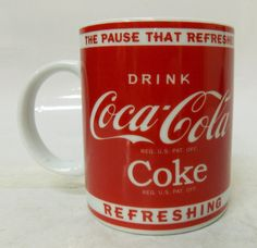 The pause that refreshes • Coca-Cola Mug